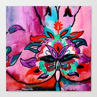 ruby Canvas Prints featuring Ruby by Sonal Nathwani