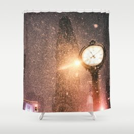 New York City Snow Shower Curtain