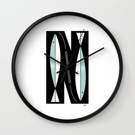 PNW - N Wall Clock