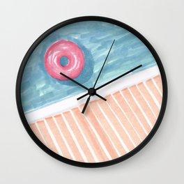 Alone #society6 #decor #buyart Wall Clock