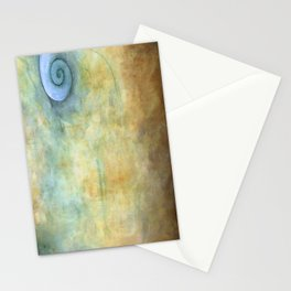 Blue Shell Stationery Cards