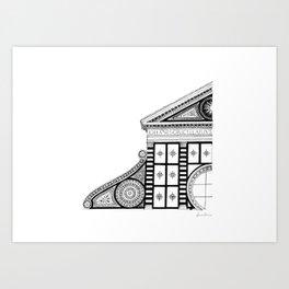 Basilica di Santa Maria Novella - Firenze Art Print