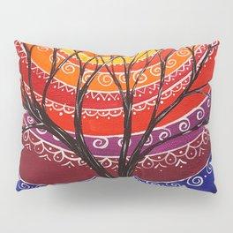 Mandala tree 256 Pillow Sham
