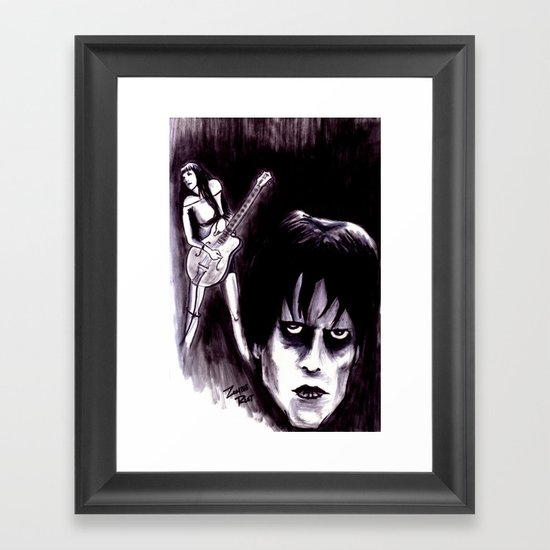 Cramped Framed Art Print