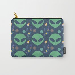 Aliens in Outerspace Carry-All Pouch