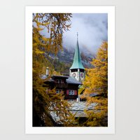 Zermatt, Switzerland Art Print