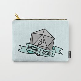 Anything is Possible D20 Carry-All Pouch