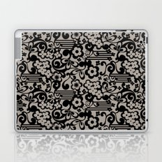 Negative Flower Laptop & iPad Skin