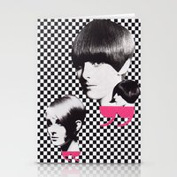 60s Stationery Cards featuring 60s by Luca Mainini