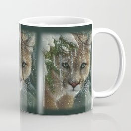 Cougar / Mountain Lion - Frozen Coffee Mug