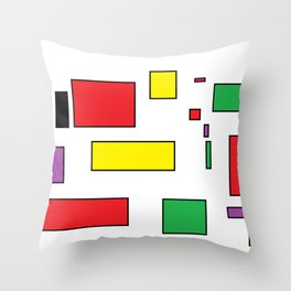 call me square Throw Pillow