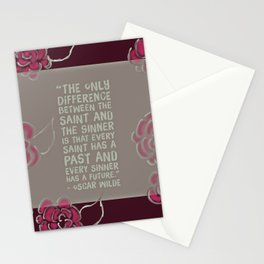 Sinners & Saints Stationery Cards