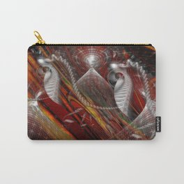 From Within Optical Illusion Art Carry-All Pouch