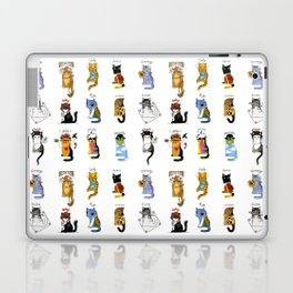 Legendary Art cats - Great artists, great painters. Laptop & iPad Skin