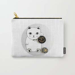 Lucky and Kawaii Carry-All Pouch