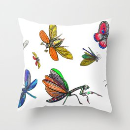 FLIGHTS Throw Pillow