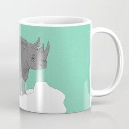 Floating Rhino Coffee Mug