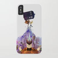 doctor who iPhone & iPod Cases featuring Doctor Who by Anthony Wallace