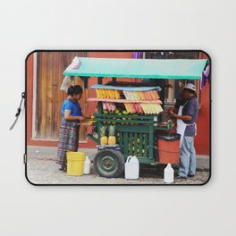 Guatemalan Fruit stand Laptop Sleeve