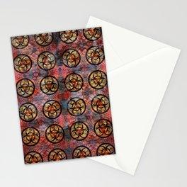 Biohazard Pattern Stationery Cards