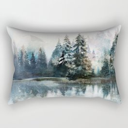 Winter Morning Rectangular Pillow