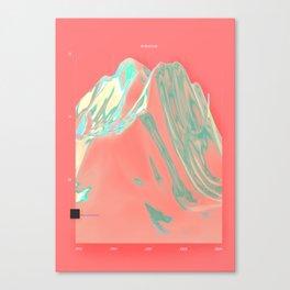 Global turnover Canvas Print