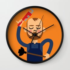 Taking the Plunge! Wall Clock