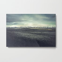 Black Desert Metal Print