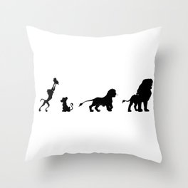 Simba's Pride Throw Pillow
