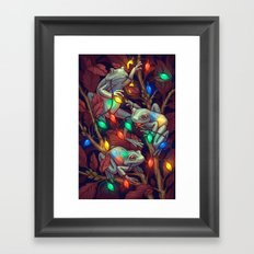Baby it's Toad Outside Framed Art Print