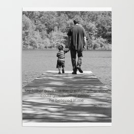 Father & Son Poster