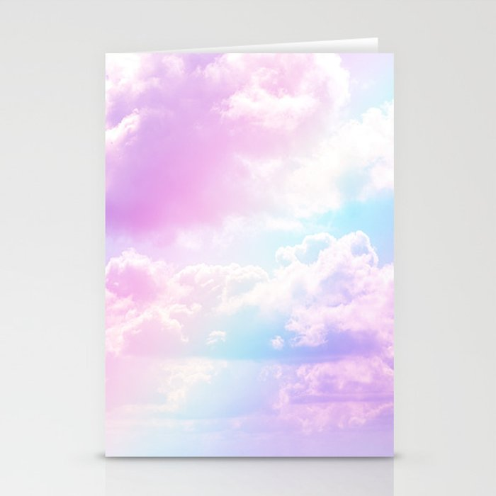 Pastel Rainbow Aesthetic Stationery Cards By The Thiiird Society6