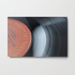 33&1/3-RPM Variant (Color) Metal Print
