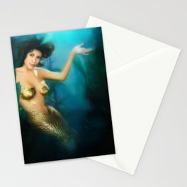 Charmed Mermaid Stationery Cards