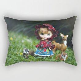 Red Riding Hood Rectangular Pillow