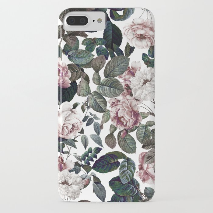 vintage garden iphone case