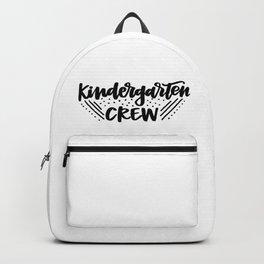 Kindergarten crew Backpack