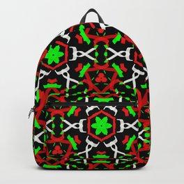 Holly Leaf Pattern Backpack