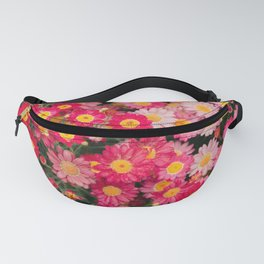 Ombre Pink Daisies Fanny Pack