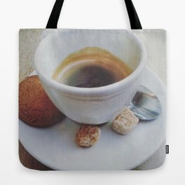Espresso Coffee and Biscuit Tote Bag