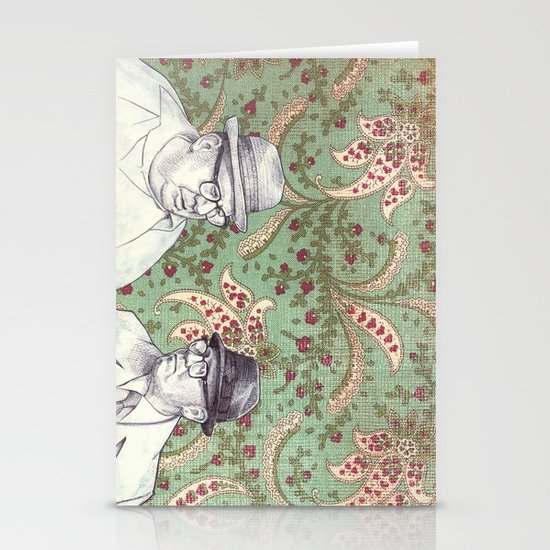 Old Men Stationery Cards