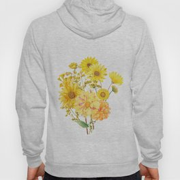 Vintage & Shabby Chic - Late Summer Flowers Hoody