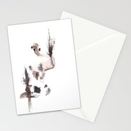 The Emperor- 151124  Abstract Watercolour Stationery Cards