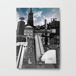Urban Stockholm Metal Print