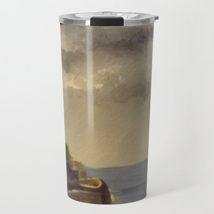 Rocky Point Lighthouse Travel Mug
