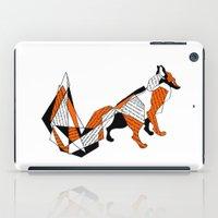 literature iPad Cases featuring literature fox 2 by vasodelirium