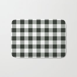 Buffalo Check in black Bath Mat
