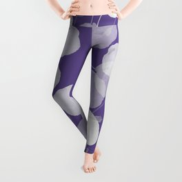 Ultra Violet Floral Abstract. Pantone Color of the Year 2018 Leggings