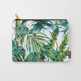nature leaves exotic watercolor I Carry-All Pouch