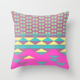 composition 1 - falling apart Throw Pillow
